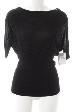 Apart Strickshirt schwarz