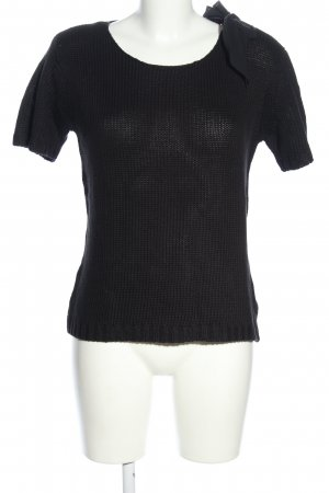 Apart Strickshirt schwarz Casual-Look