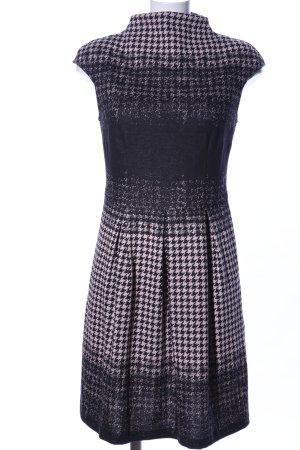 Apart Sweatjurk zwart-roze volledige print zakelijke stijl
