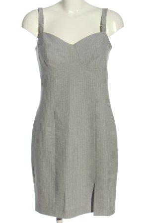 Apart Sukienka na ramiączkach jasnoszary-biały Na całej powierzchni