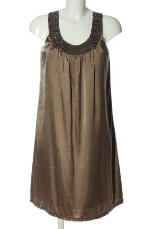 Apart Trägerkleid bronzefarben Elegant