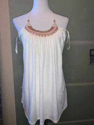 Apart Długa bluzka w kolorze białej wełny Wiskoza