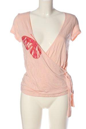 Apart V-Ausschnitt-Shirt nude Casual-Look