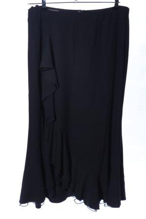 Apart Volanten rok zwart elegant
