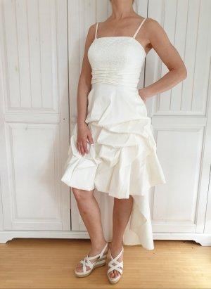 Apart  glamour Robe mi-longue blanc-blanc cassé