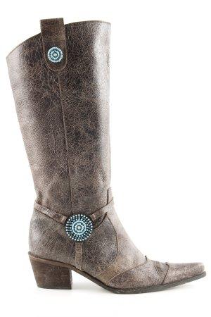 Apart Boots western bronze style extravagant