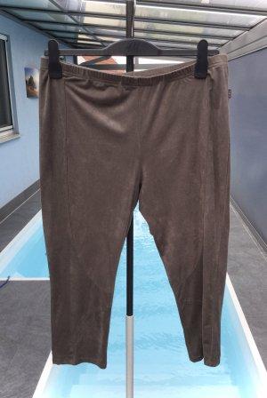 100% Fashion Pantalone Capri marrone-nero-marrone scuro