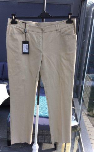 100% Fashion Pantalon strech chameau-beige