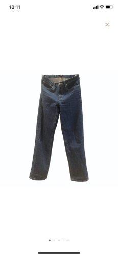 A.P.C. Vaquero de corte bota azul oscuro