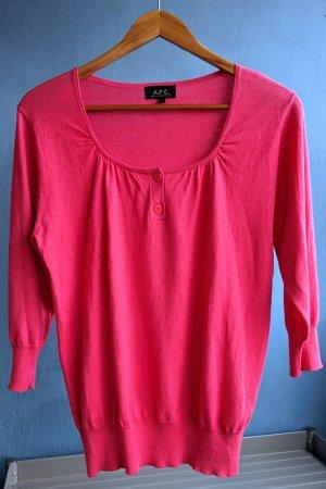 A.P.C. Haut tricotés rose