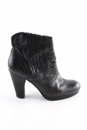 Apepazza Heel Boots black casual look