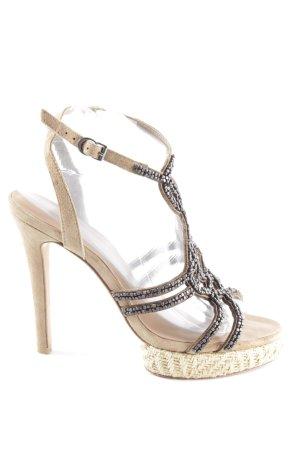 Apepazza High Heel Sandaletten nude-silberfarben Elegant