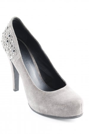 Apepazza High Heels grey brown elegant