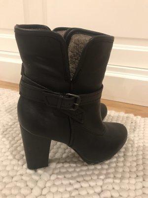 Apepazza Slip-on laarzen zwart