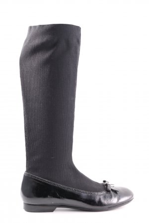 Apepazza Stretch Boots black casual look