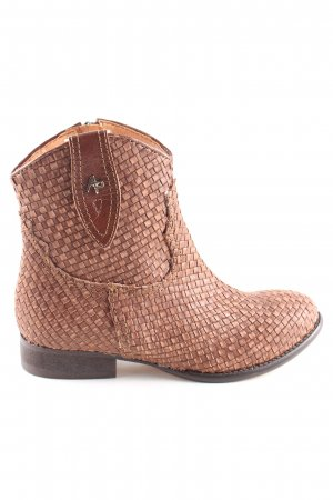 Apepazza Western Boots brown casual look