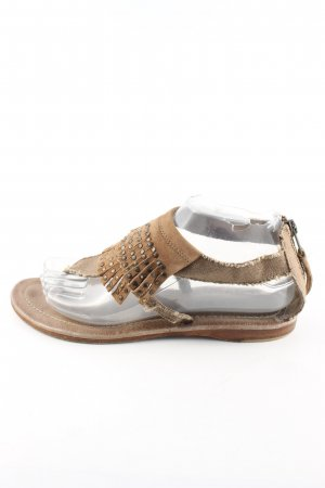 Apepazza Toe-Post sandals bronze-colored casual look