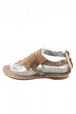 Apepazza Sandalo toe-post bronzo stile casual