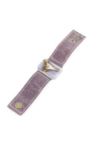Apholos Armband lila extravaganter Stil
