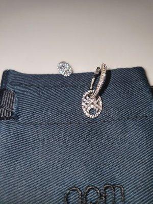 apm Monaco Srebrne kolczyki srebrny