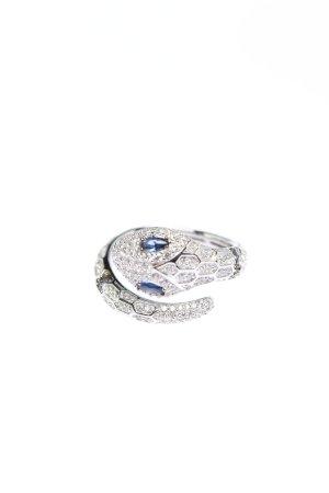apm Monaco Srebrny pierścionek srebrny-niebieski