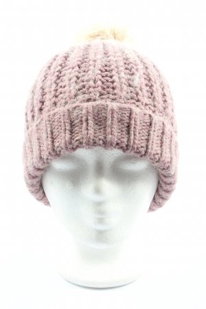appetizer Knitted Hat pink-natural white casual look