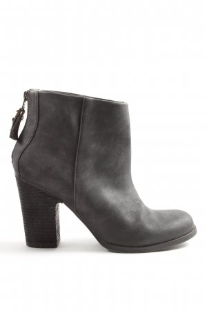 appetizer Zipper Booties light grey casual look