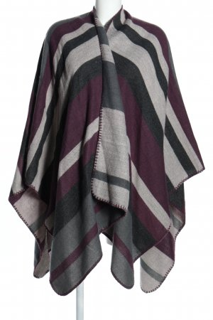 appetizer Knitted Poncho allover print casual look
