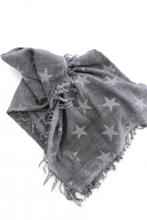 appetizer Fringed Scarf light grey-grey