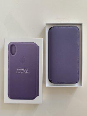 Apple Pokrowiec na telefon komórkowy jasny fiolet Skóra