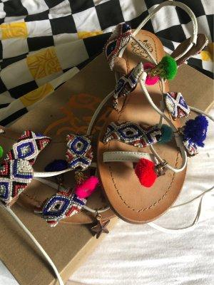 Apple of eden Romeinse sandalen veelkleurig