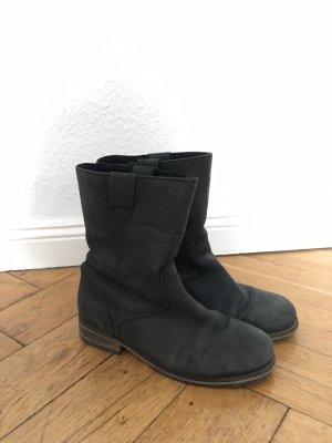 Apple of eden Halfhoge laarzen zwart