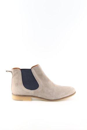 Apple of eden Chukka boot crème-noir style décontracté