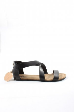 Apple of eden Komfort-Sandalen schwarz Casual-Look