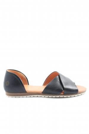 Apple of eden Comfort Sandals black casual look
