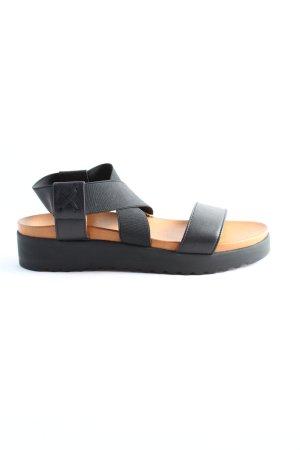 Apple of eden Sandalo comodo nero-marrone stile casual