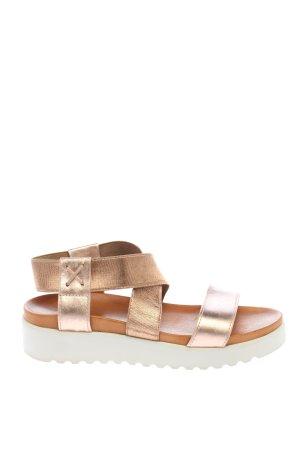 Apple of eden Comfort Sandals bronze-colored casual look