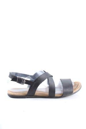 Apple of eden Sandalo con cinturino nero stile casual