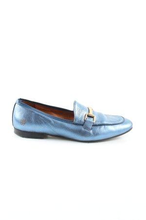 Apple of eden Scarpa slip-on blu elegante