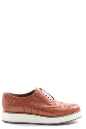 Apple of eden Sznurowane buty brązowy Elegancki