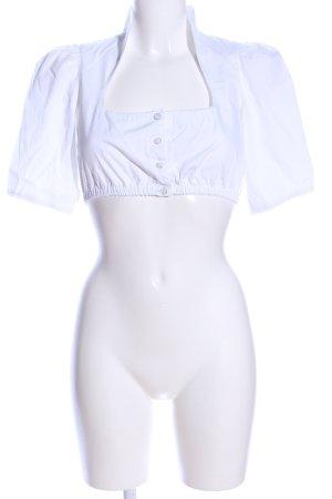 Apple of eden Blusa tradizionale bianco stile classico