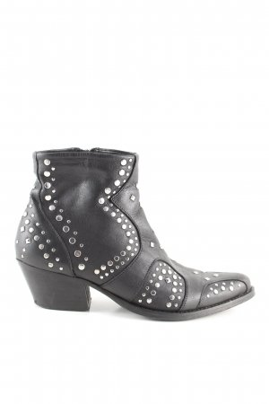 Apple of eden Western-Stiefeletten schwarz Casual-Look
