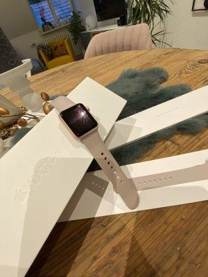 Apple Reloj digital color rosa dorado-malva