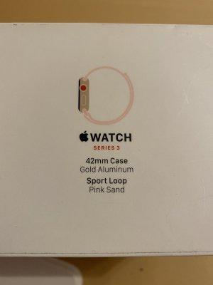Apple Montre numérique or rose