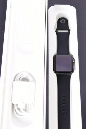 Apple Montre numérique gris violet