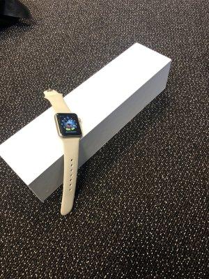 Apple Montre numérique or rose-crème