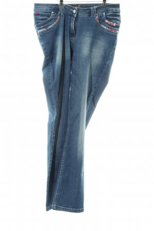 Aprico Stretch Jeans blau Casual-Look