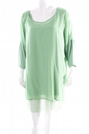 Aprico Tunic Dress green Sequin ornaments