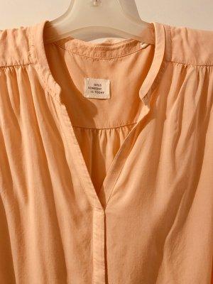 Apricofarbene Bluse von Opus Größe 40