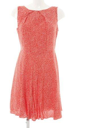 Apricot A-lijn jurk rood-wit volledige print casual uitstraling